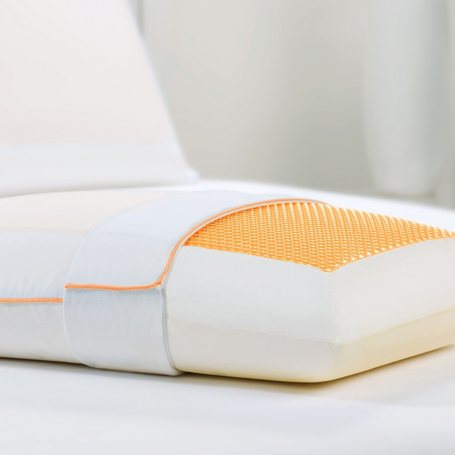 Dreamfinity Cooling Gel And Memory Foam Pillow Memory Foam Pillow Foam Pillows Gel Pillow