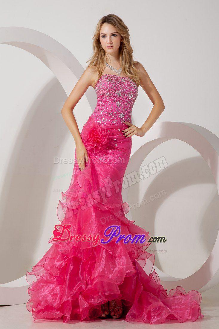 Pink Mermaid prom dress | Prooooom :* | Pinterest