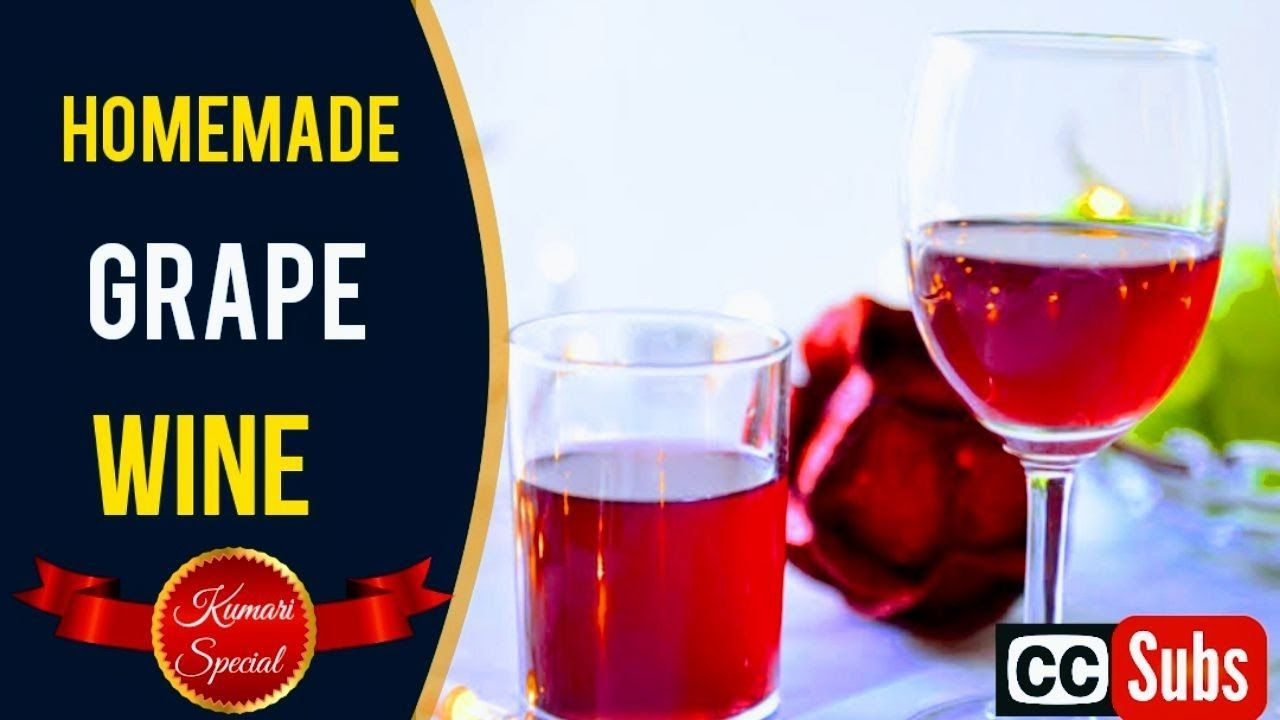 Grape Wine Homemade Wine How To Make Wine Grape Wine In Tamil Red In 2020 Homemade Wine Recipes Homemade Wine Wine Making