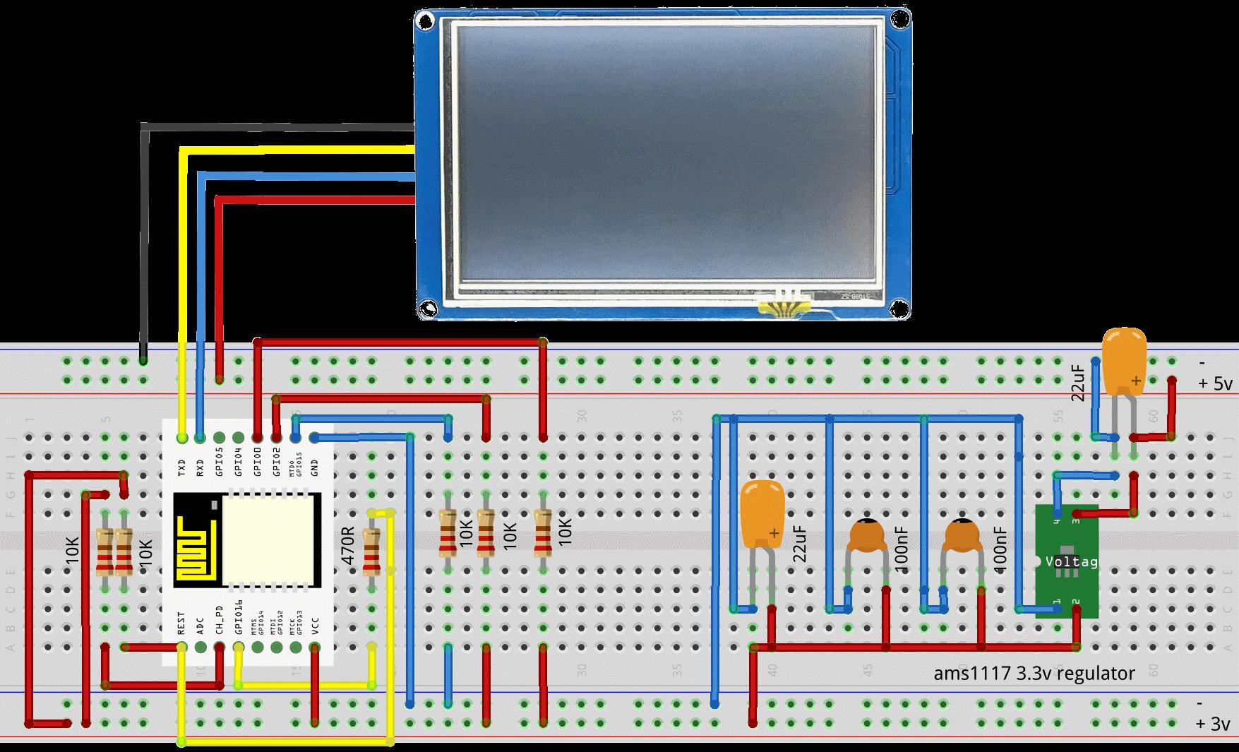 Esp8266-with-nextion | Esp8266 in 2019 | Arduino, Display, Mini