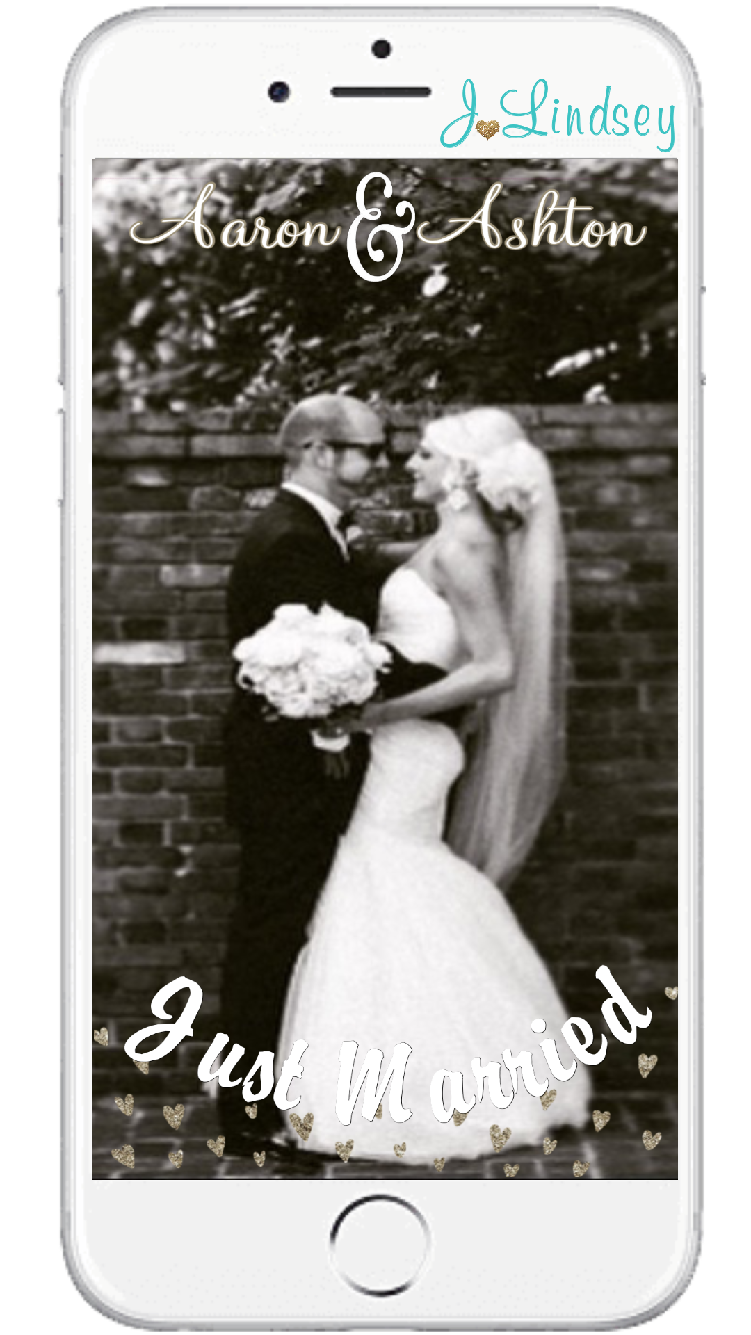 Custom snapchat geofilter for your BIG DAYemail