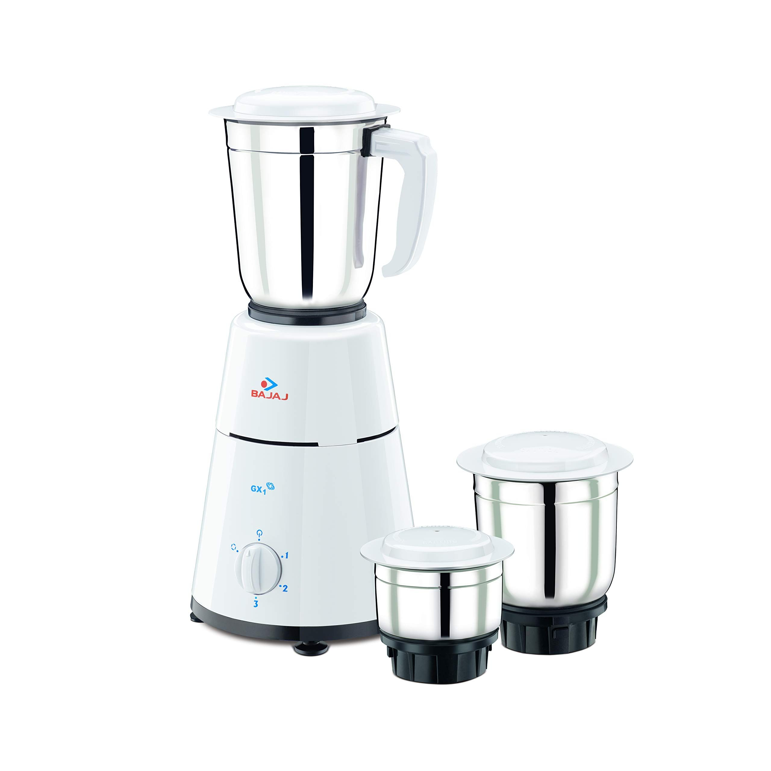 Bajaj GX1 500Watt Mixer Grinder with 3 Jar Kitchen