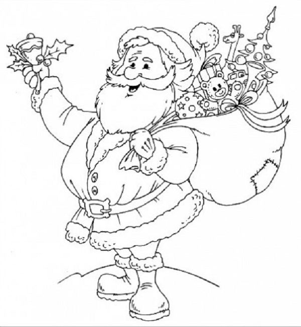 christmas coloring pages for elementary students