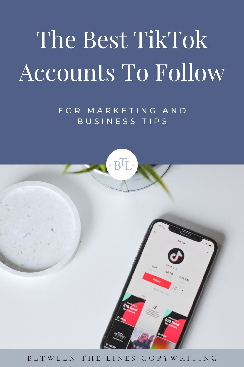 The Best Tiktok Accounts To Follow For Business Between The Lines Copywriting Accounting Business Business Inspiration