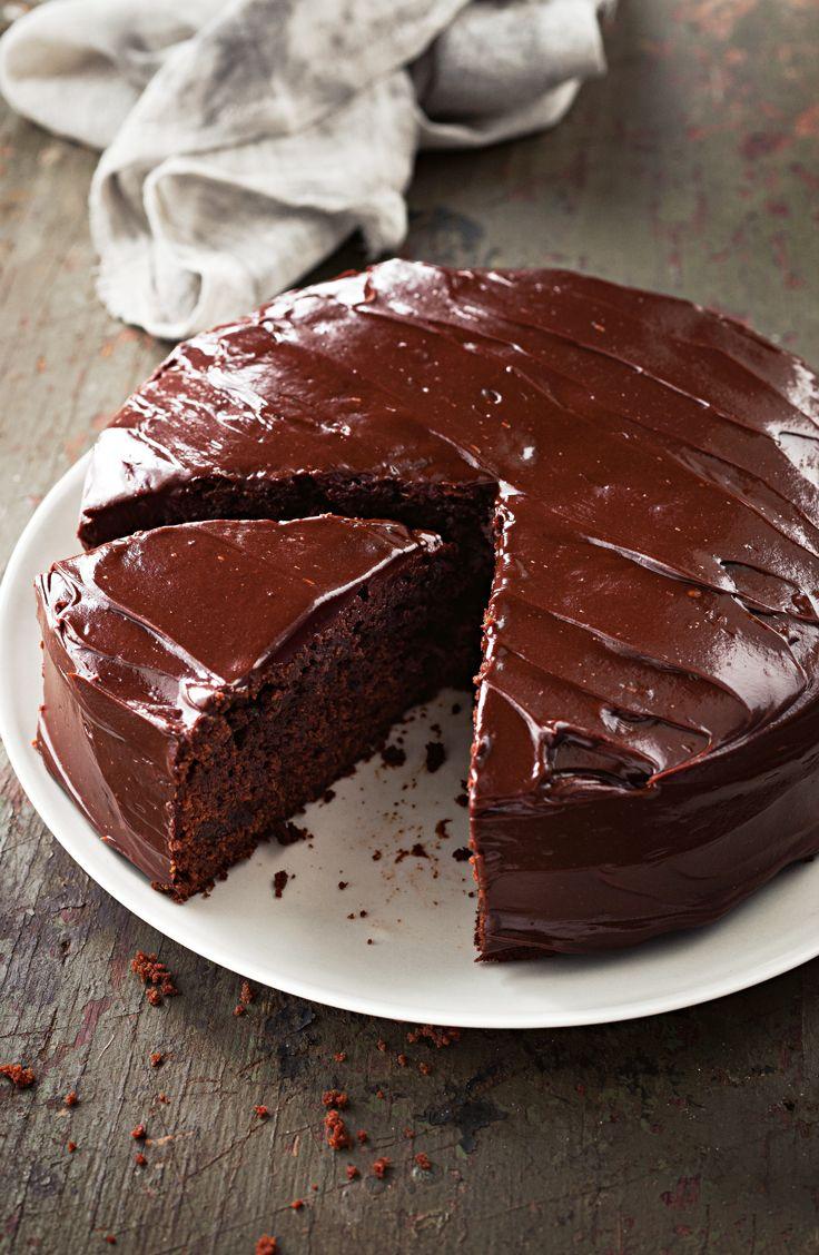 Spiked Mud Cake With Sour Cream Ganache Mud Cake Chocolate Cake Recipe Cake Recipes