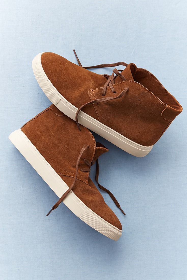 Inspired by a classic chukka boot, but