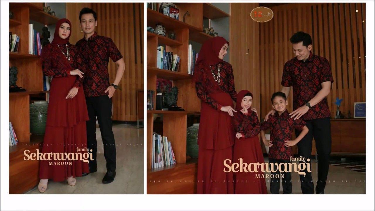 Model Baju Batik Keluarga Terbaru 2019 Edisi Sekarwangi Couple