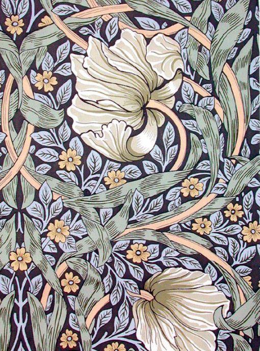 William Morris Floral Designs ♣Mondo dell'Arte
