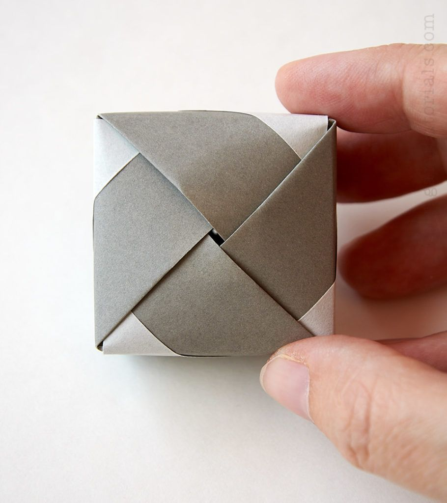 Origami Modular Box | Design: Tomoko Fuse Article to the des… | Flickr | 1024x910