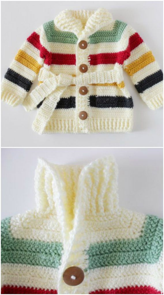 Baby Sweater – Craft Ideas | Crochet | Pinterest | Punto bebé, Bebe ...