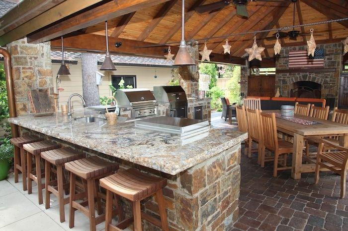 Holz Für Außenküche : ▷ ideen und bilder zum thema außenküche selber bauen
