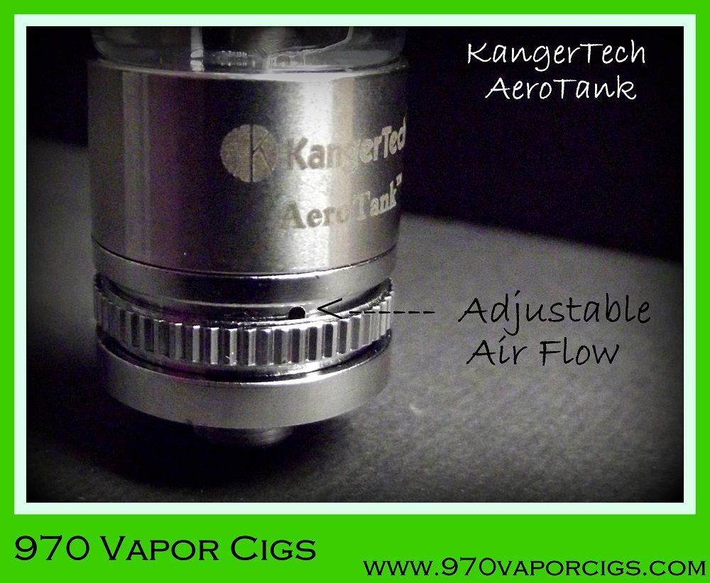 Adjustable Air Flow Kangertech Aerotank Pinterest Vapor Kanger Turbo