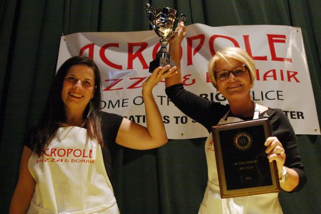 Catherine And Rhonda Cougias Of Acropole New Glasgow Hold Up