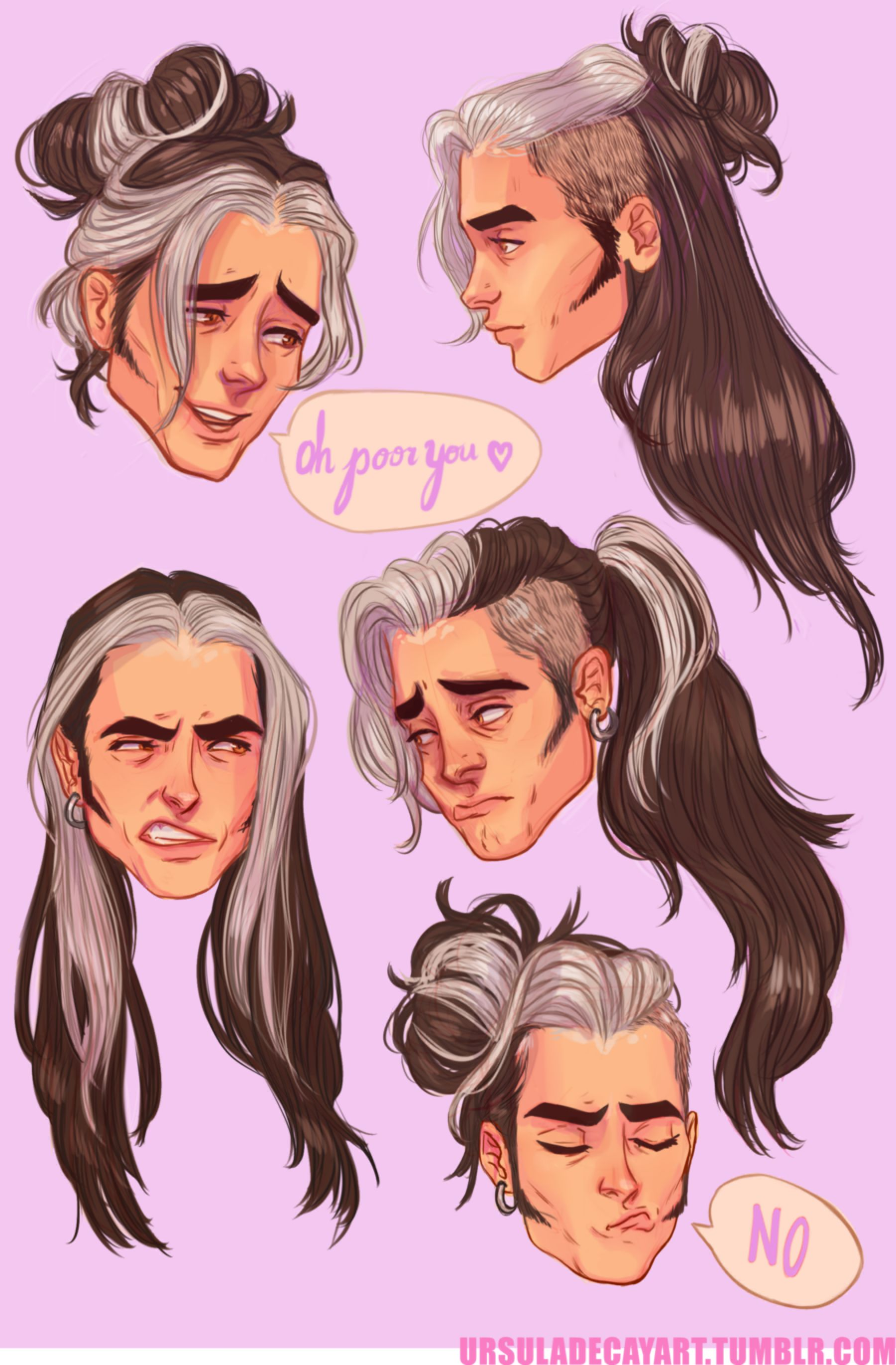 Olly's hair by UrsulaDecay on DeviantArt Drawings, How