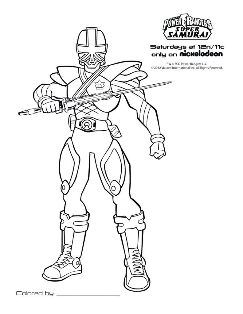 Tendances Coloriage De Power Rangers Ninja Steel Coloriage Pour