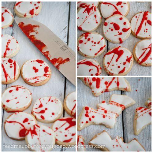 Trick or Treat: Splatter-Cookies und Devil's Food Cupcakes zu Halloween
