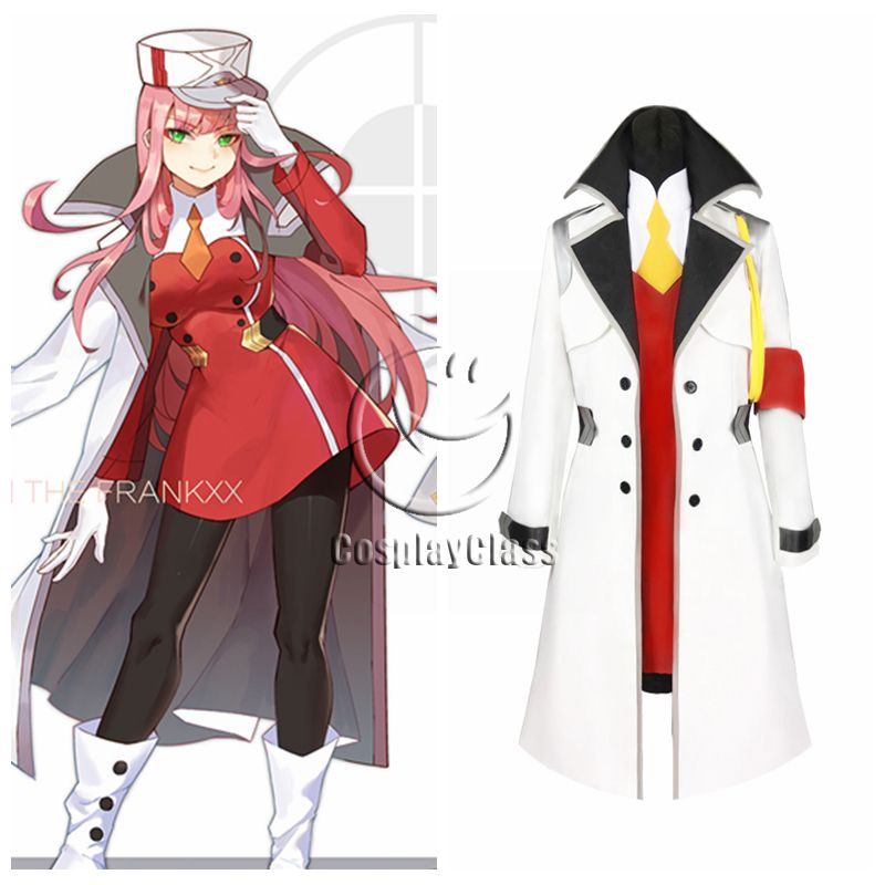 Darling in the Franxx Code 002 Zero Two Cosplay Costume