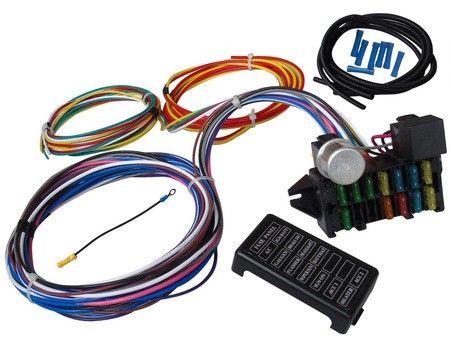 12 Circuit Street Hot Rat Rod Custom Universal Color Wiring Wire