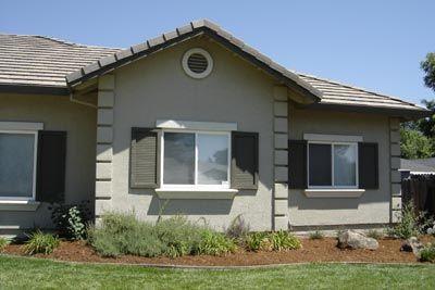 Exterior Window Trim Stucco foam trim pieces to add trim to windows, etc when you have a