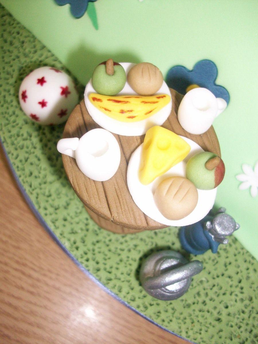 Sylvanian Families Tent cake & Sylvanian Families Tent cake | Sylvanian all in one! | Pinterest ...