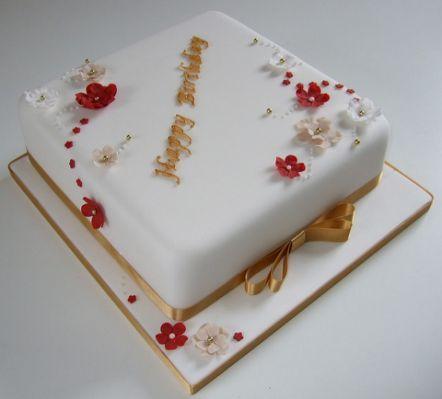 80th Birthday Cake   Flickr -