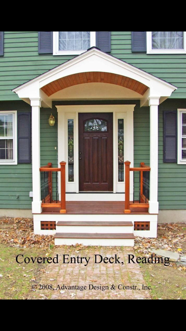 Pin By Kendal Poth On Exterior Demeanor Front Porch Design Small Front Porches Designs Porch Design