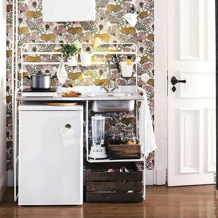 Image result for sunnersta kitchen Ikea hack kitchen