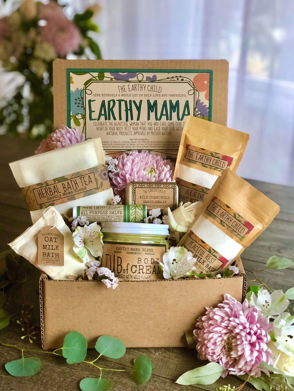 New mom gift basket spa gift for women self care kit for