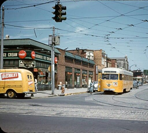 Poplar Grove & Edmondson Avenue. 1952   Baltimore city ...