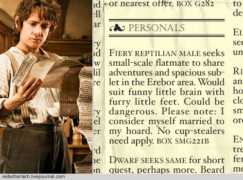 If THIS was the case, I doubt Bilbo would have chosen the dwarfs.