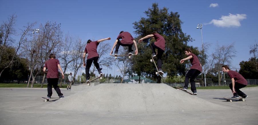 Skateboard Sequence Shots