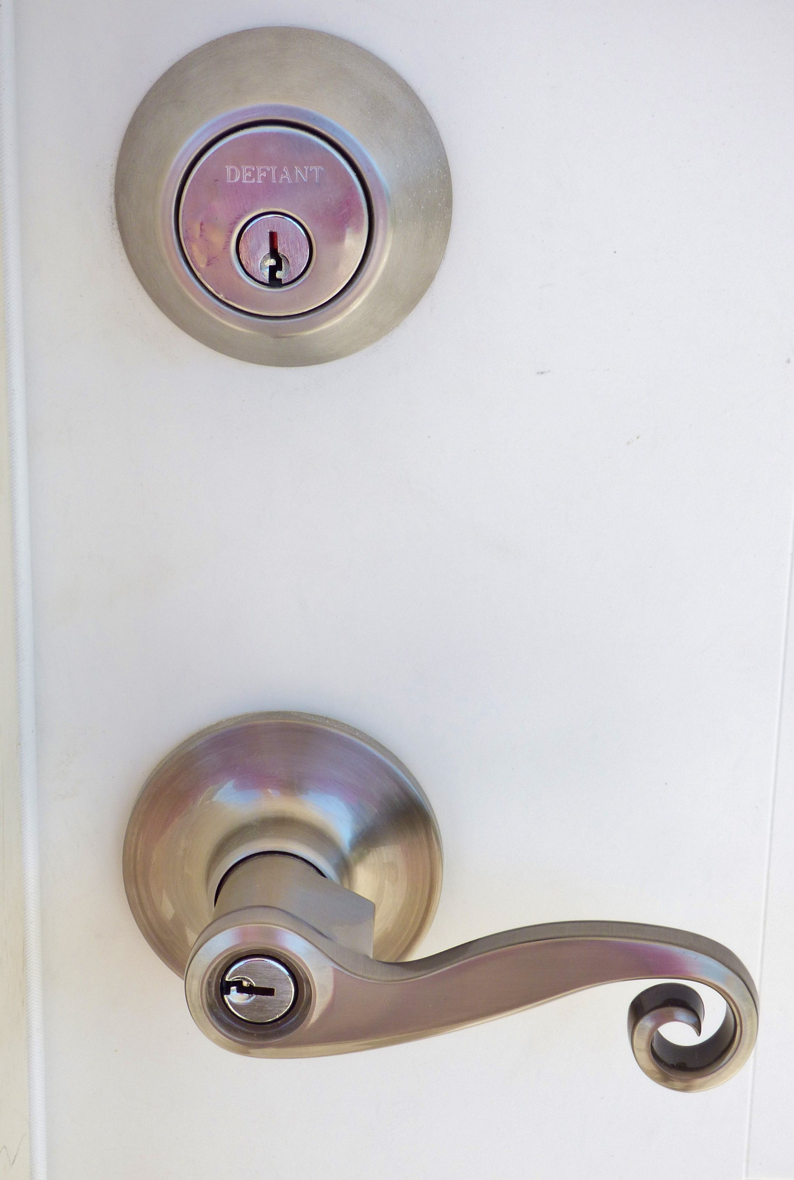 The builder uses elaborate finishing touches to homes being built. With other builders, this would be a plain doorknob. www.milsteadconstructionhomes.com