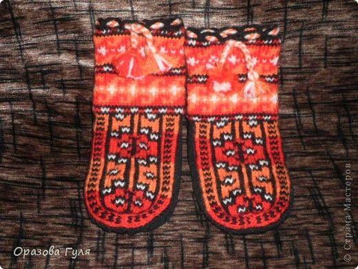 Теплые носки с орнаментом. Джурабы. фото 10 | Носки ...