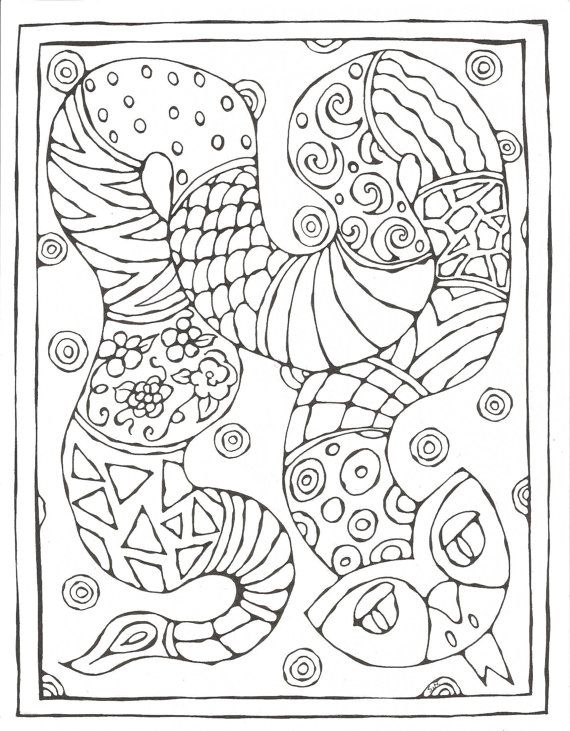 Chinese Zodiac Printable Coloring Pages | *** Sternzeichen ...