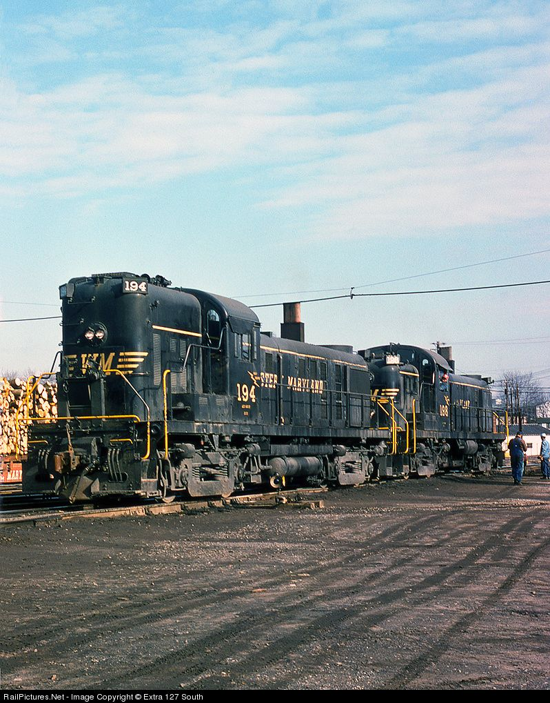 Net photo wm 194 western maryland railway alco rs 3 at hagerstown