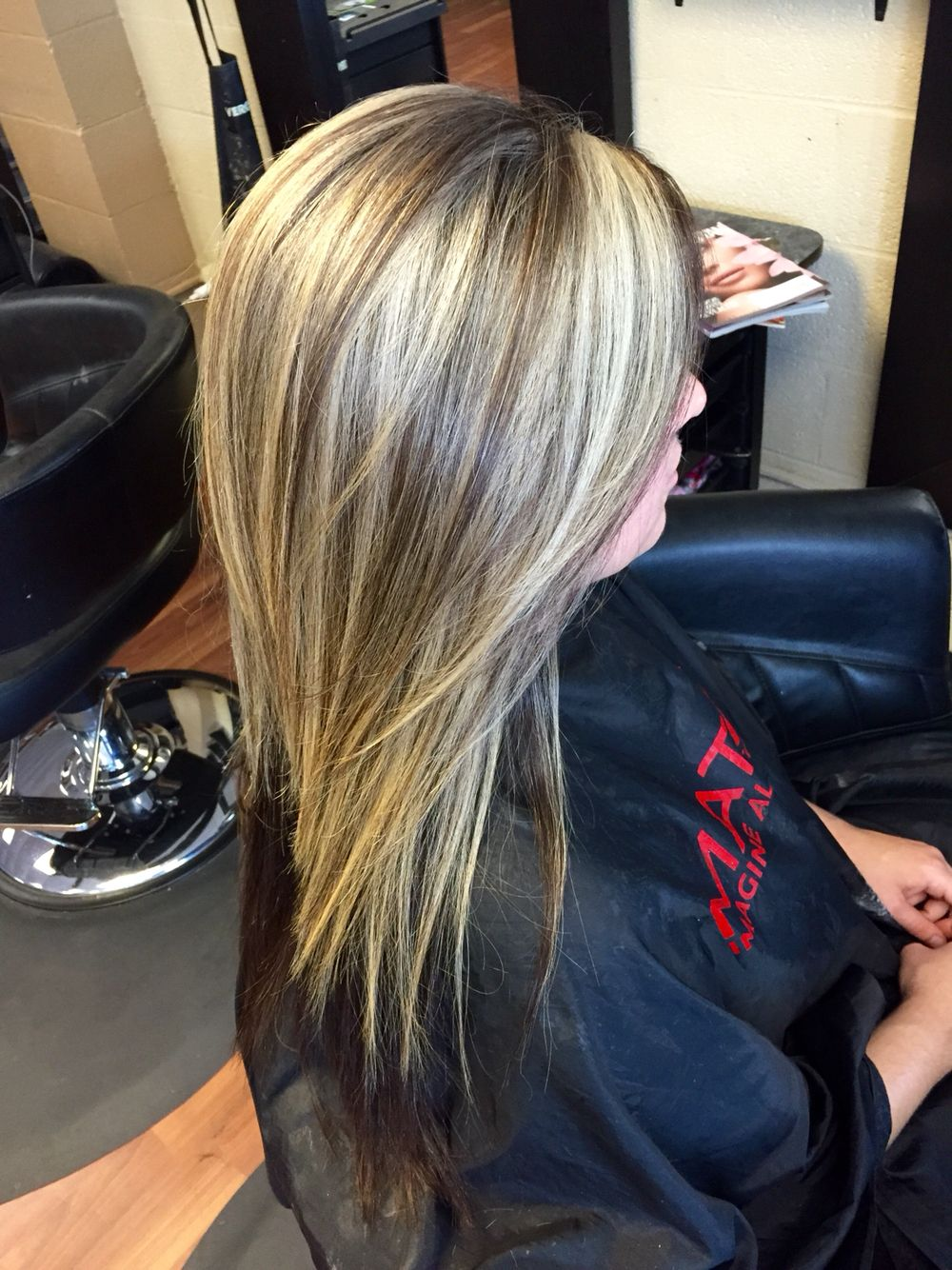 Heavy Blonde Highlight With A Golden Brown Base Heavy Blonde Highlights Brown Hair With Blonde Highlights Beauty Hair Makeup