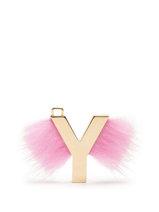 FENDI ABClick letter  Y  key charm.  fendi  charm  bc4023cf1c03b