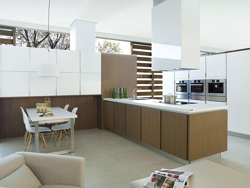 G680 blanco mate g480 roble camel vintage mobiliario - Mobiliario de cocina industrial ...
