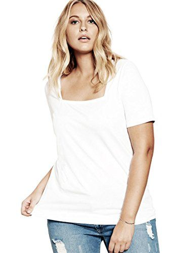 75a3b8af70c Ultimate Tee Women s Plus Size Square Neck Ultimate Tee