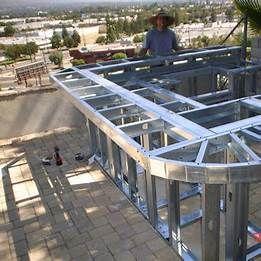 Outdoor Kitchen Construction Plans