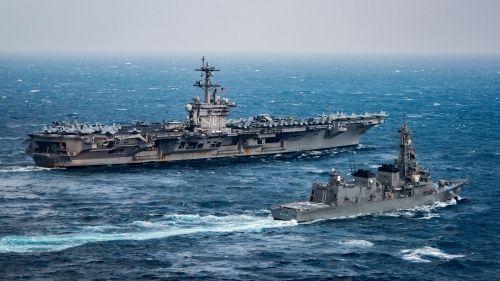 Báo Hàn: Triều Tiên phản ứng ngày tàu sân bay Mỹ tập trận với Nhật