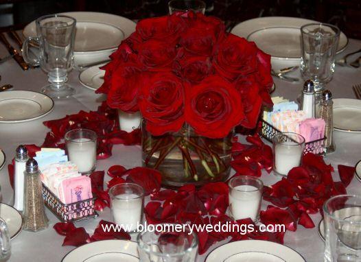 Red Wedding Centerpiece Ideas Google Search