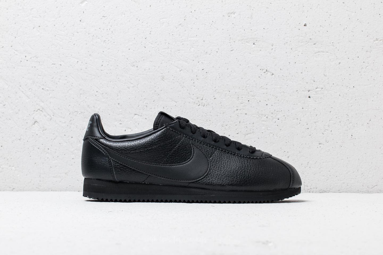 Nike Classic Cortez Leather | Black/ Black-Anthracite | $105 ...