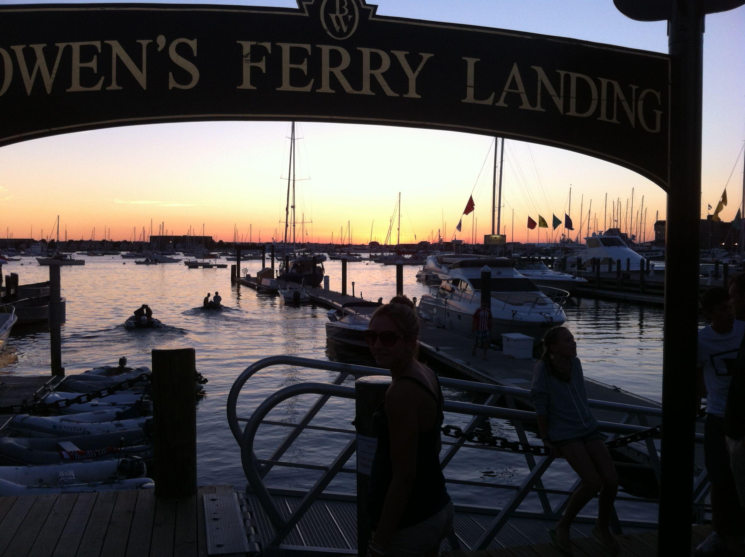 Newport Rhode Island sunset