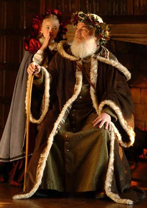 In Medieval England And For Centuries Afterwards The Figure Of Father Christmas Represented Spirit Benevolence Good Cheer