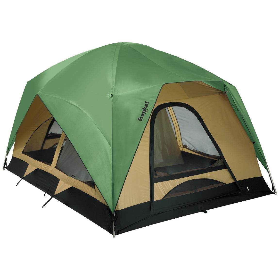 Sportsmanu0027s Guide has your Eureka!® Titan 8 - Person Tent available at a great price in our Cabin Tents collection  sc 1 st  Pinterest & Eureka!® Titan 8-Person Tent | CAMPING 101 | Pinterest | Tents ...
