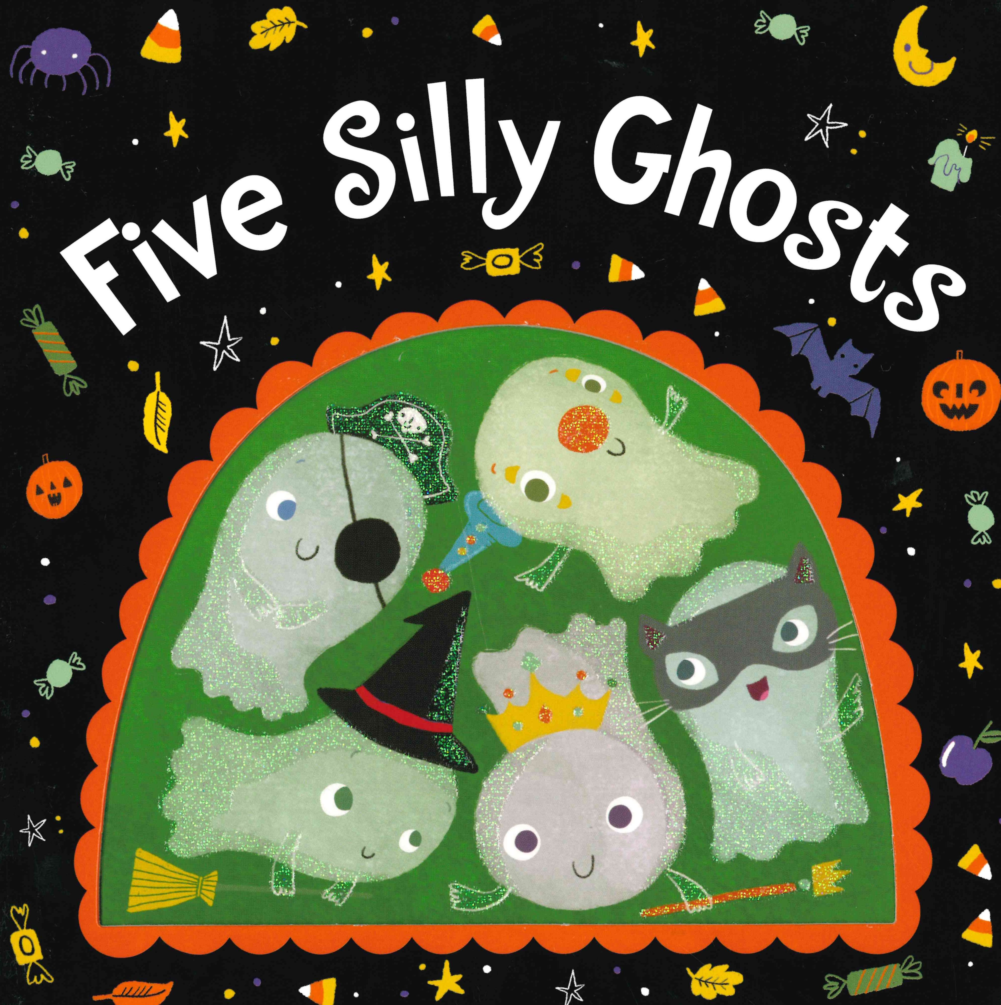 2020 Halloween Classic At The Gate Photos Five Silly Ghosts (Board Book) in 2020 | Halloween books for kids