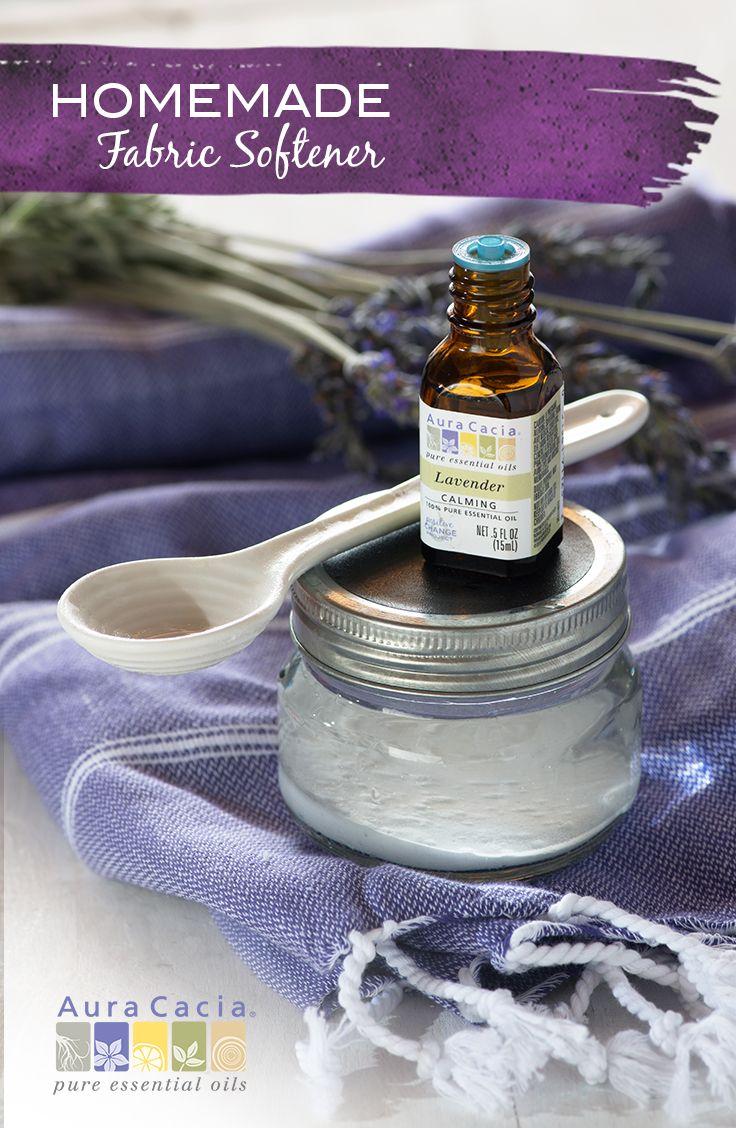 Fabric softener with lavender essential oil recipe