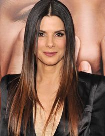 dark brown hair with lighter brown ends | ... hair near her roots is dark brown but changes to light brown closer to