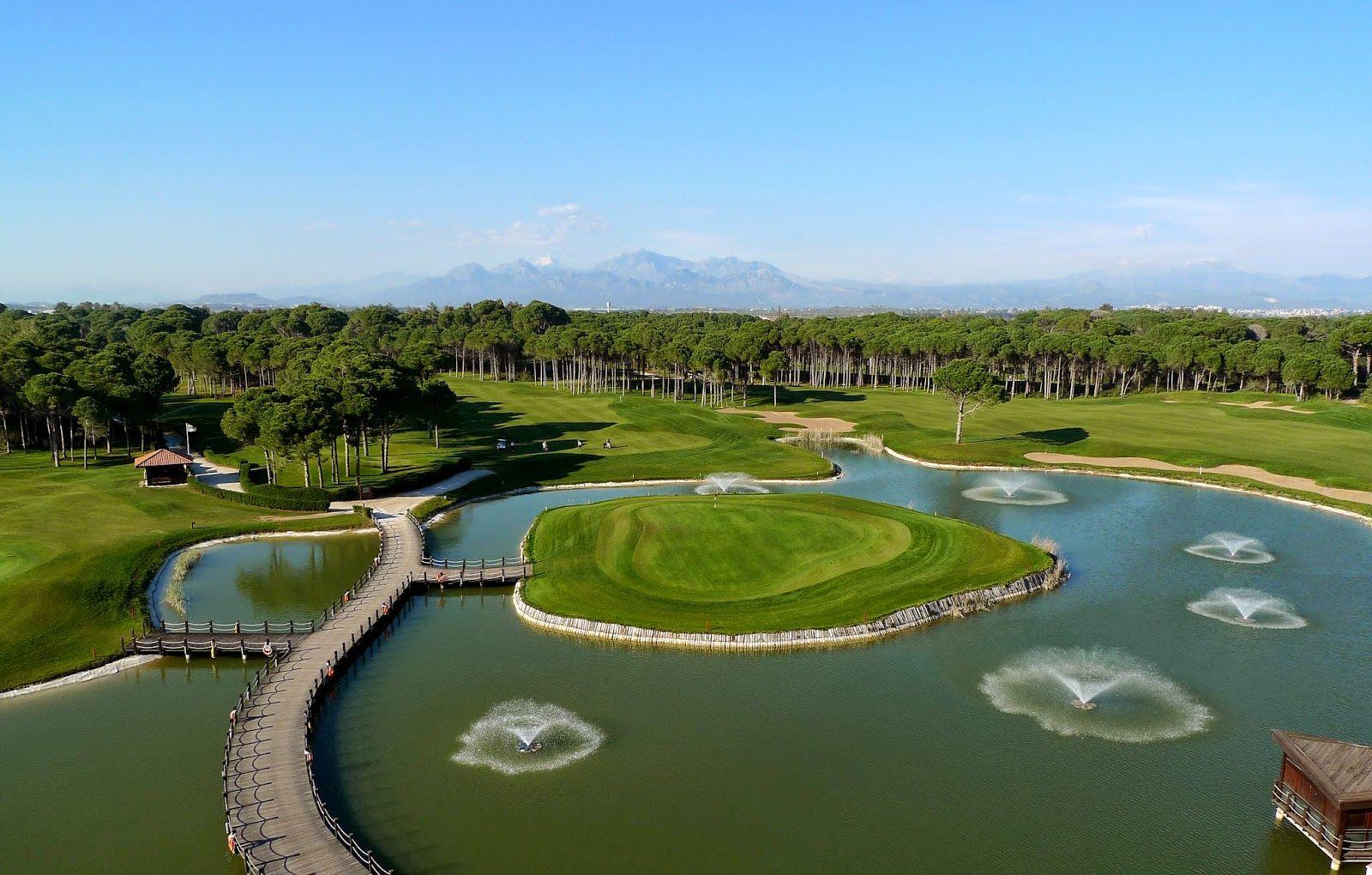 En golfande dams upplevelser: Vårgolf i Belek. Golf in Belek, Turkey.